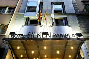 Eingang Hotel Silken Ramblas
