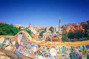 Der Park Güell: ein beliebtes Ausflugsziel in Barcelona bei einer Gruppenreise